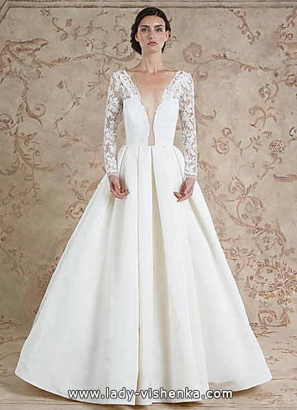 Wedding dresses with lace sleeves 2016 - Sareh Nouri