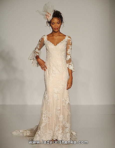 Wedding dresses with lace sleeves Sottero and Midgley