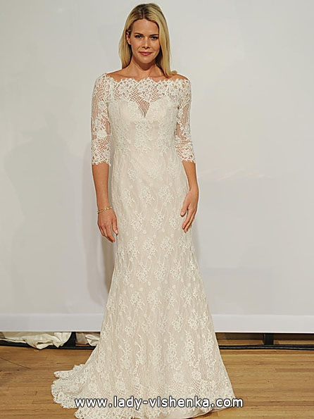Wedding dresses with lace sleeves Addy K
