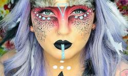 4. Halloween makeup