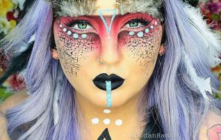 Halloween amazing makeup ideas