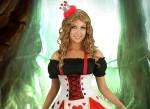 Queen of Hearts Halloween Dress for women